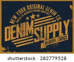 denim supply   Shutterstock .eps vector #282779528