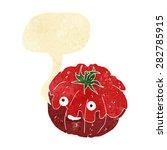 cartoon tomato   Shutterstock .eps vector #282785915