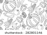seamless pattern with... | Shutterstock .eps vector #282801146
