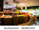 blurred image of shopping mall... | Shutterstock . vector #282802442