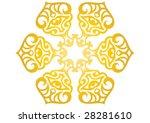 decorative border and very nice ... | Shutterstock .eps vector #28281610
