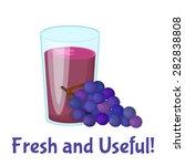 juice vector illustration.... | Shutterstock .eps vector #282838808