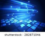 vector digital technology... | Shutterstock .eps vector #282871046