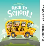 back to school   | Shutterstock .eps vector #282872522