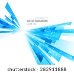 abstract geometric background... | Shutterstock .eps vector #282911888