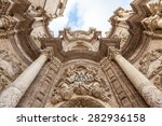 spain  valencia. detail of the... | Shutterstock . vector #282936158