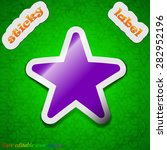favorite star  icon sign....