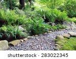 Woodland Shade Garden Path ...