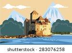 alps | Shutterstock .eps vector #283076258