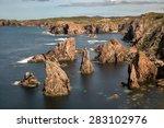 mangersta or mangurstadh beach... | Shutterstock . vector #283102976