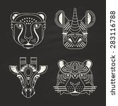 Animal Portraits Made In Unique ...