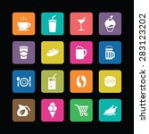 cafe icons universal set for... | Shutterstock .eps vector #283123202