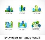 real estate  city  skyline... | Shutterstock .eps vector #283170536
