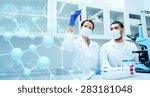 science  chemistry  technology  ...   Shutterstock . vector #283181048