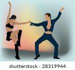 dancing. | Shutterstock .eps vector #28319944