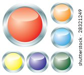 button from colors. vector. | Shutterstock .eps vector #28321249