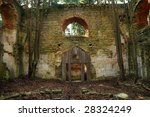 Ruined Baroque Church