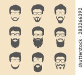 vector set of different men...