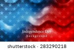 bright wavy independence day... | Shutterstock .eps vector #283290218