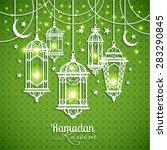 eid mibarac abstract vector... | Shutterstock .eps vector #283290845