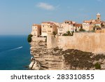 Bonifacio   Corsica. Old Town...