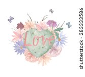 Watercolor Floral Print....