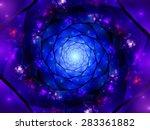 Magical Zoomed Mandala In Spac...
