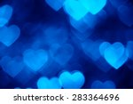 Blue Heart Shape Holiday Photo...
