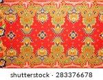 traditional batik sarong... | Shutterstock . vector #283376678
