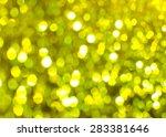gold bokeh collection... | Shutterstock . vector #283381646