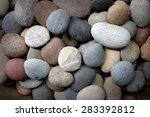 Colorful Multicolored Pebbles...