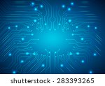 abstract vector background with ... | Shutterstock .eps vector #283393265