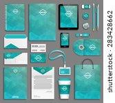 corporate identity template set....   Shutterstock .eps vector #283428662