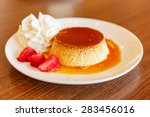 Caramel Custard Dessert And Re...