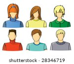 icons of office people | Shutterstock .eps vector #28346719