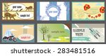 business card | Shutterstock .eps vector #283481516