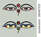 "Eyes Of Buddha   ""buddha's Eyes""..."