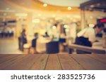 coffee shop blur background... | Shutterstock . vector #283525736