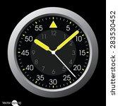 clock vector | Shutterstock .eps vector #283530452