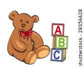 baby toy   Shutterstock .eps vector #28356628