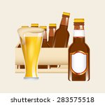 cold beer design  vector... | Shutterstock .eps vector #283575518