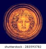 Head Of Medusa Gorgon  Ancient...