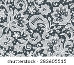 White Lace. Seamless Pattern....