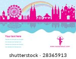 vector amusement park   Shutterstock .eps vector #28365913