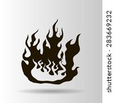 fire vector icon | Shutterstock .eps vector #283669232