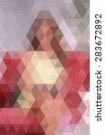 pixel background full color  | Shutterstock .eps vector #283672892