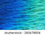 fantastic blue sea background.... | Shutterstock . vector #283678856