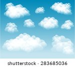 vector clouds   clouds can be... | Shutterstock .eps vector #283685036