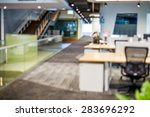 abstract blur business office... | Shutterstock . vector #283696292