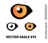 eagle eye logo design | Shutterstock .eps vector #283696565